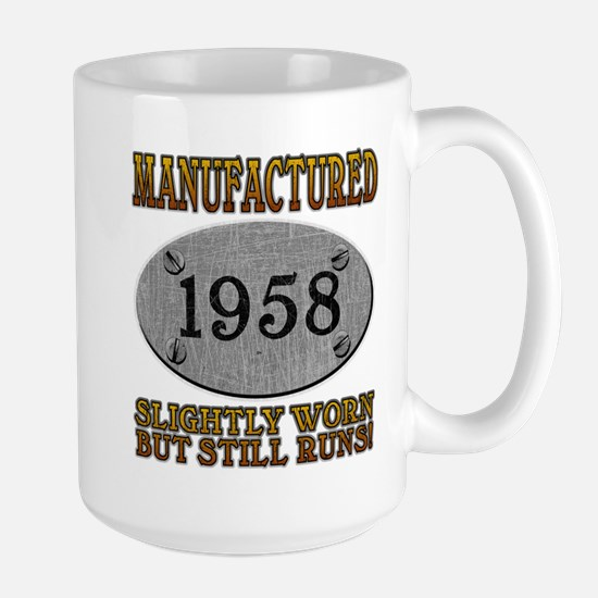Manufactured 1958 Large Mug