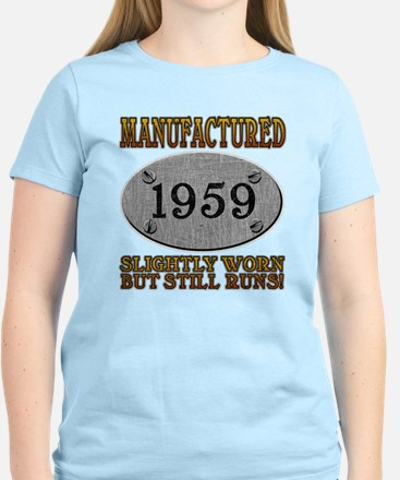 Manufactured 1959 Women's Light T-Shirt