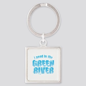 I Peed in the Green River Keychains