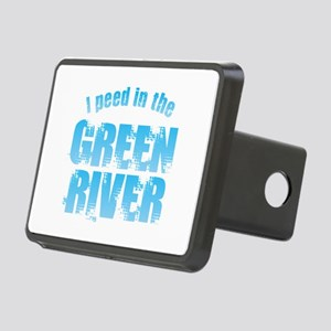 I Peed in the Green River Rectangular Hitch Cover