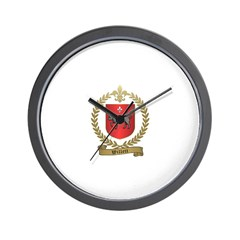 WILLETT Family Crest Wall Clock
