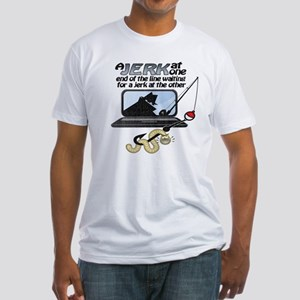 Gone Phishin' Fitted T-Shirt