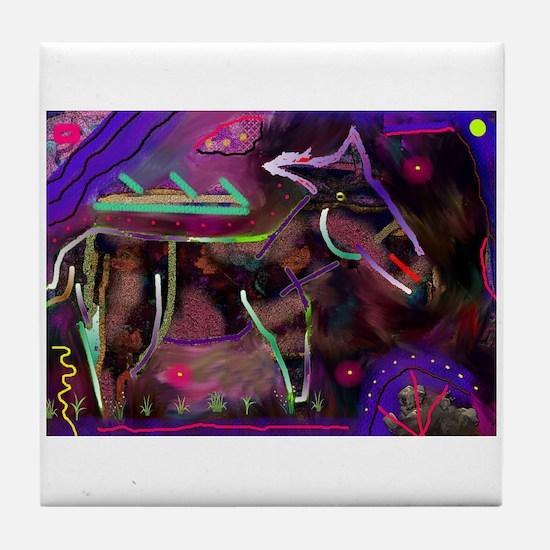 Mule Tile Coaster