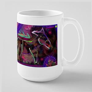 Mule Large Mug