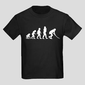 Field Hockey Kids Dark T-Shirt