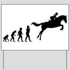 Equestrian Yard Sign