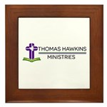 Thomas Hawkins Ministries Logo Framed Tile