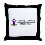 Thomas Hawkins Ministries Logo Throw Pillow