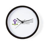 Thomas Hawkins Ministries Logo Wall Clock