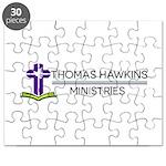 Thomas Hawkins Ministries Logo Puzzle
