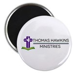 Thomas Hawkins Ministries Logo Magnets