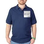 Thomas Hawkins Ministries Logo Dark Polo Shirt
