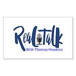Real Talk Logo Sticker