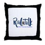 Real Talk Logo Throw Pillow