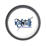 Real Talk Logo Wall Clock