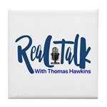 Real Talk Logo Tile Coaster