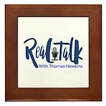 Real Talk Logo Framed Tile