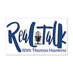 Real Talk Logo Wall Decal