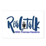 Real Talk Logo Postcards (Package of 8)