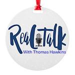 Real Talk Logo Round Ornament