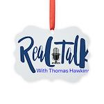Real Talk Logo Ornament