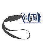Real Talk Logo Luggage Tag
