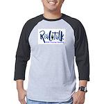 Real Talk Logo Mens Baseball Tee