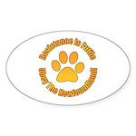 Newfoundland Sticker (Oval 10 pk)