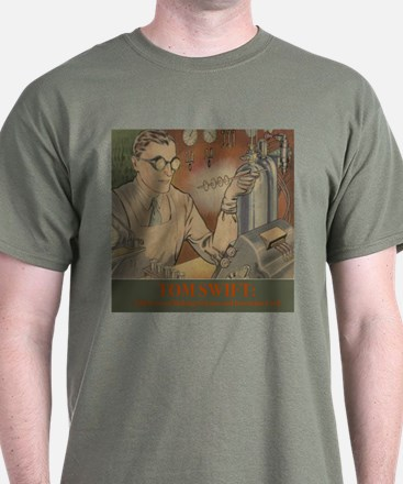 Tom Swift in the Lab T-Shirt