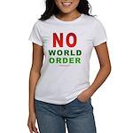 No World Order Women's T-Shirt
