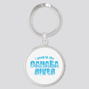 I Peed in the Cahaba River Keychains