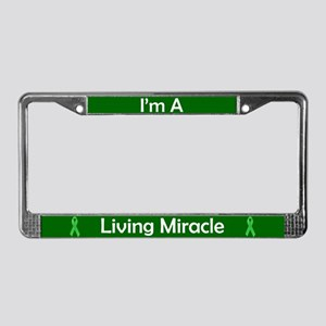 Living Miracle 2 License Plate Frame