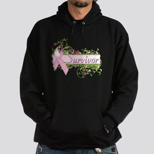Survivor Floral Hoodie (dark)
