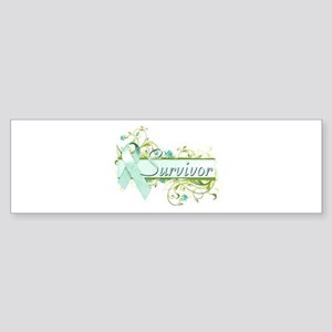 Survivor Floral Sticker (Bumper)