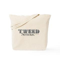 Plain Tweed Tote Bag