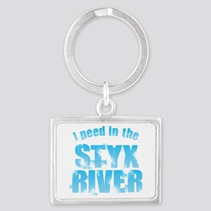I Peed in the Styx River Keychains