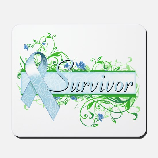 Survivor Floral Mousepad