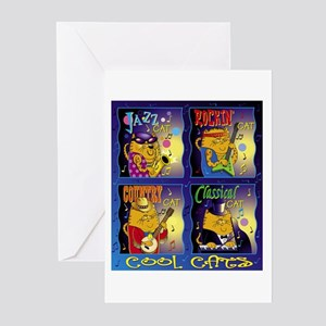 Cool Cats Greeting Cards (Pk of 10)