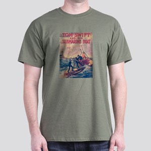 Tom Swift and his Submarine Boat Dark T-Shirt