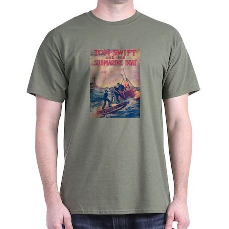 Tom Swift and his Submarine Boat Dark T-Shirt