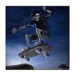 Board to Death Tile Coaster