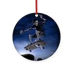 Board to Death Ornament (Round)