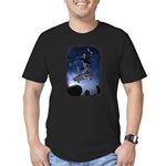 Board to Death Men's Fitted T-Shirt (dark)
