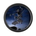Board to Death Large Wall Clock