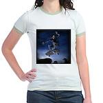 Board to Death Jr. Ringer T-Shirt