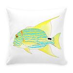 Sailfin Snapper Everyday Pillow
