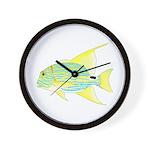 Sailfin Snapper Wall Clock