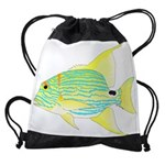 Sailfin Snapper Drawstring Bag