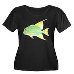 Sailfin Snapper Plus Size T-Shirt