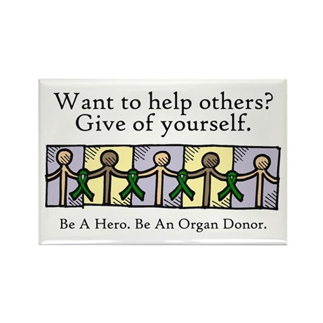 Give of Yourself Rectangle Magnet
